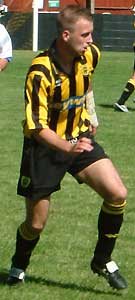 Thommo in pre-season action