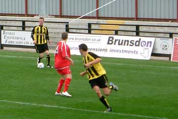 Allard in action vs Hemel
